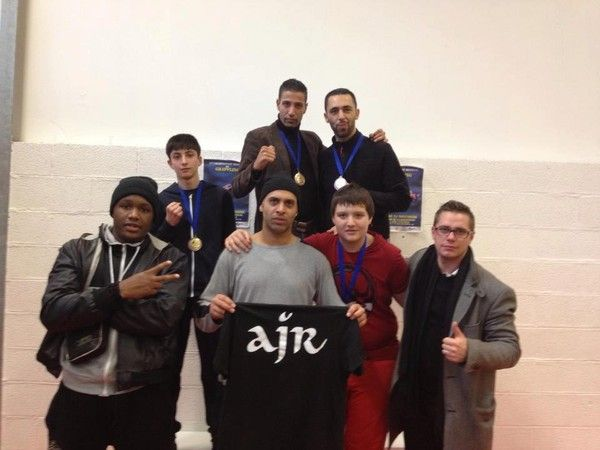 AJR  la 1re comptition officielle de Grappling 